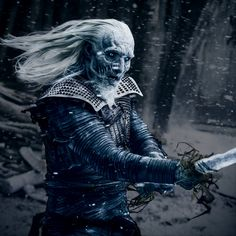 Game of Thrones: Hardhome - White Walker 1 by HarleyQuinn645