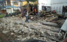 Sube a 37 la cifra de muertos en el sur de México por fuerte terremoto