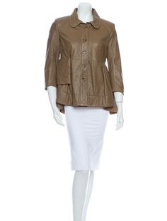 Loree Rodkin Leather Jacket