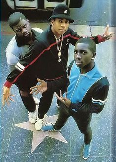 L.L Cool J & Posse *posted by Hip Hop Fusion
