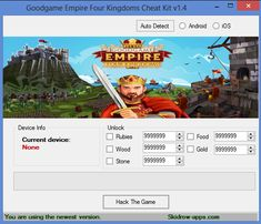 Goodgame Empire Four Kingdoms Hack apk Then you definitely have to make use of the Kingdom Four Kingdoms hack device to enhance the manner in which you perform the overall game is certainly suggested if you should be a method enthusiast. But what exactly is Empire Kingdoms? This can be a fantastic technique sport by which you order and can produce your castle. As all technique activities, this involves a mixture of fortress upgrading and effective thinking.