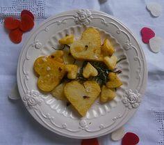 Patatas con romero y sal de rosas