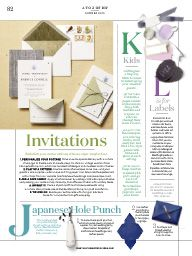 "I saw this in ""The A to Z of DIY"" in Martha Stewart Weddings Summer 2015 Summer 2015."