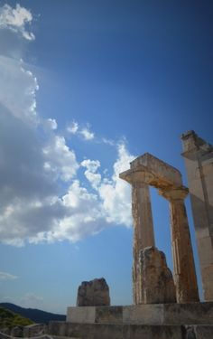 The Temple of Aphaia in Aegina