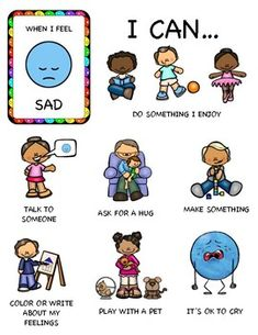 Help kids learn healthy ways to manage their emotions with these fun puzzles. Four different levels of difficulty. They come in both color and black and white puzzle options, so kids can color their own if they would like. Emotions Preschool, Preschool Behavior, Emotions Activities, Classroom Behavior, Kids Behavior, Preschool Learning, Preschool Activities, Teaching Kids, Social Emotional Learning