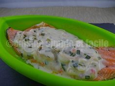Filet de truite, sauce échalote et ciboulette