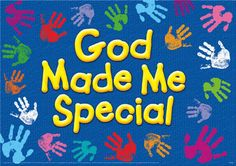 God Made Me Special ARGUS Large Poster Add inspiration to your wall space. Well-known scripture verses reinforce Christian values and bring a sense of God's love to children and adults of all Nursery Bulletin board Religious Bulletin Boards, Christian Bulletin Boards, Church Bulletin Boards, Preschool Bulletin Boards, Preschool Classroom, Classroom Ideas, Christian Classroom, Christian Preschool, Bullentin Boards