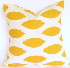 Yellow Ikat