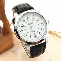 $1.71 (Buy here: https://alitems.com/g/1e8d114494ebda23ff8b16525dc3e8/?i=5&ulp=https%3A%2F%2Fwww.aliexpress.com%2Fitem%2FHot-hothot-men-watch-Elegant-Analog-Luxury-Sports-PU-Leather-Strap-Quartz-Men-Wrist-Watch-male%2F32704442829.html ) Hot hothot men watch Elegant Analog Luxury Sports PU Leather Strap Quartz Men Wrist Watch male watches clock reloj hombre jy27 for just $1.71