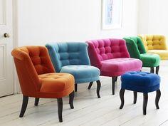 Idea for our hallway tub chair Velvet Furniture, Home Furniture, Pastel Furniture, Unique Furniture, Contemporary Furniture, Garden Furniture, Style At Home, Home Furnishing Accessories, Home Furnishings