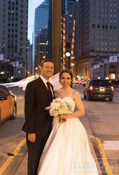 Yes, I am re-pinning one of our wedding photos. Yes, I am shameless.  Allure Romance Style 2510 - Wedding Photography: Elle Rose Photo