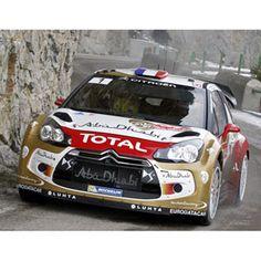 Norev Citroen DS3 WRC - 1st 2013 Monte Carlo Rally - #1 S. Loeb