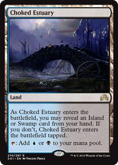 Choked Estuary - Shadows over Innistrad Spoiler