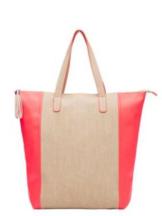 Sussan - New In - Pretty In Pink - Marie tote | colour block = love @Brit Morin #totes