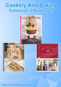 Cookery And Baking Collection By ‪Lisa Faulkner‬. Buy now athttp://ebay.eu/1E9kMmY. #Cookery #Baking #Books #LisaFaulkner #cakerecipes