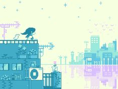 10 Charming 8-Bit GIFs Depicting Every Day Life In Japan | Co.Design | business + design