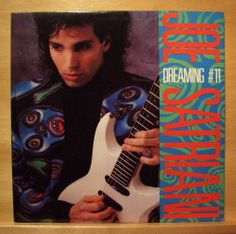 JOE SATRIANI - Dreaming # 11 - near mint - Vinyl LP - USA Relativity Records RAR