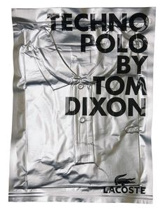 Tom Dixon & Mind Design / Lacoste / Techno Polo / Packaging...
