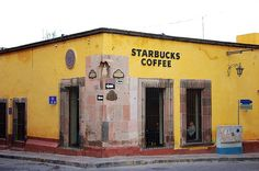 Starbucks, San Miguel De Allende, Guanajuato.