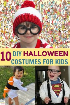 Are you thinking about Halloween costumes for your kids? Then you must check out these list of the 10 Most Unique DIY Halloween Costumes For Kids. Super original costumes you can make at home! #DIY #halloween #costumes