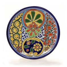Mexican Plates  sc 1 st  Pinterest & Pin by Karen Baldwin on Decorative Plates | Pinterest | Decoupage ...