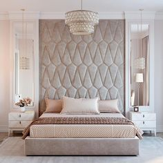 Casual Or Elegant Bedroom Design (What To Choose?) - Interior Decor and Designing Luxury Bedroom Design, Master Bedroom Design, Decor Interior Design, Bedroom Designs, Master Suite, Master Bedrooms, Girls Bedroom, Queen Bedroom, Luxury Interior