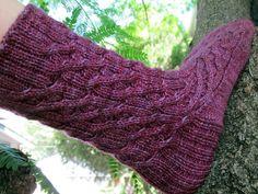 Jarndyce gestrickte Socke Muster von KirkyLady auf Etsy, $5.50