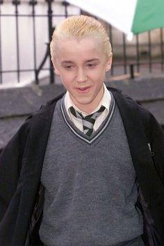 Tom Felton starred as Draco Malfoy...