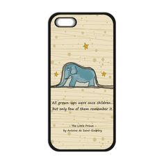 Little Prince Elephant Cover Case for iPhone 4 4S 5 5S 5C 6 6S Plus For Galaxy S3 S4 S5 mini S6 S7 Edge Note 2 3 4 J5 J7 2016