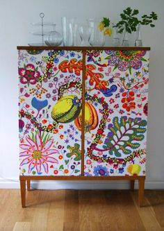 DYI Josef Frank cupboard - the result!""