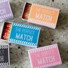 like these as party favors, pair with homemade candle, can finish months in advance.