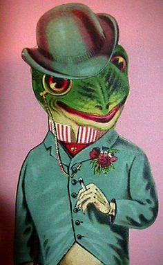 Sharp Dressed Frog