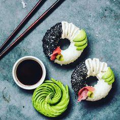 Sushi donut : découvrez la nouvelle tendance healthy du sushi donut...