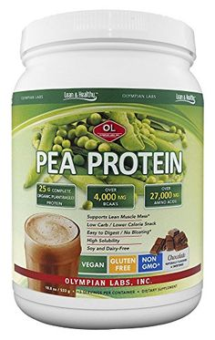 Olympian Labs Pea Protein Shake Chocolate Small 188 Ounce -- You can find more details by visiting the image link.