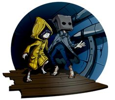 It was unexpected to see this new Trailer of Little Nightmares 2 at Gamescom recently. Copic Drawings, Art Drawings Sketches, Little Nightmares Fanart, Ink Pen Art, Fan Art, Art Reference Poses, People Art, Manga Games, Indie Games