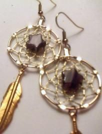Purple Star Dreamcatcher Earrings Perfect for my Mom!