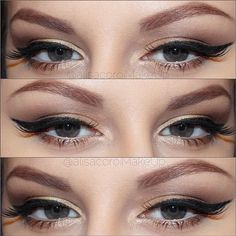 Soft Makeup with Liner
