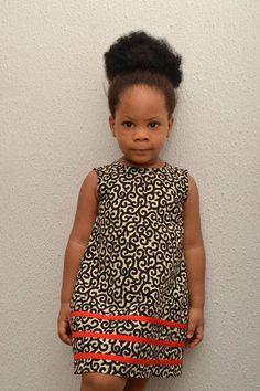 Ankara Kiddie Dress/ African Inspired/ Girl's Dress/ Quality fabric/ Good Finishing/ Made In Nigeria #AfricanFashion