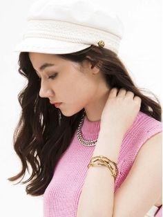 DOUBLE STANDARD CLOTHING 上官キャスケット帽 21,600円(税込)