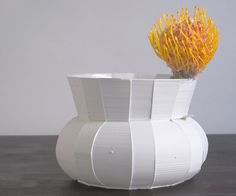 """DIK SCHEEPERS, PIECES OF PI VASE 2010: it took me 3 tries to type """"pi"""" instead of """"pie."""""""