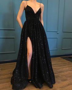 Black Lace Prom Dress, Black Prom Dress, Prom Dress Prom Dress For Cheap, Prom Dress Long Prom Dresses 2019 Prom Dresses With Pockets, Cheap Prom Dresses, Prom Party Dresses, Dress Prom, Dress Long, Dresses Dresses, Elegant Dresses, Wedding Dresses, Prom Gowns