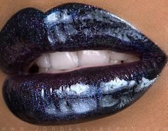 Beauty and Makeup Tips Lipstick Colors, Lip Colors, Black Lipstick, Lip Makeup, Beauty Makeup, Lipgloss, Lipsticks, Lipstick Swatches, Nice Lips