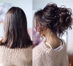 What's the Difference Between a Bun and a Chignon? - How to Do a Chignon Bun – Easy Chignon Hair Tutorial - The Trending Hairstyle Elegant Wedding Hair, Short Wedding Hair, Wedding Hair And Makeup, Wedding Veils, Bridesmaid Hair Updo Messy, Bridal Hair Updo, Bun Hairstyles For Long Hair, Hair Dos, Bride Hairstyles