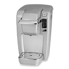 Keurig® B31/K10 Mini-Plus Personal Coffee Makers - BedBathandBeyond.com. Has great reviews. love the red color....more for Richmond since he drinks coffee sometimes.