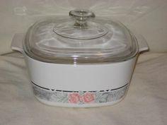 Corning Ware Silk & Roses 3 Liter Square Casserole Baking Dish w/Lid A-3-B CorningWare http://www.amazon.com/dp/B0040Z5H5Y/ref=cm_sw_r_pi_dp_o4Izwb0T90N13
