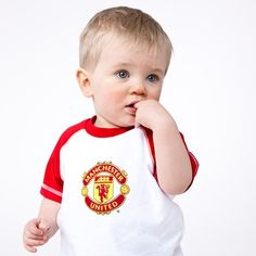 manchester united baby t-shirt
