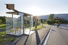 Gallery of New Images Released of Krumbach, Austria's Famous Bus Stops - 14