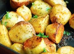 Cartofi la cuptor cu lămâie