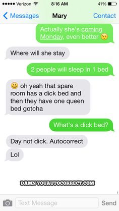 It's Special, For Guests - Damn You Auto Correct!