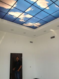 How can you have a blue sky in a room with no windows? How can you make your ceilings and walls come to life?